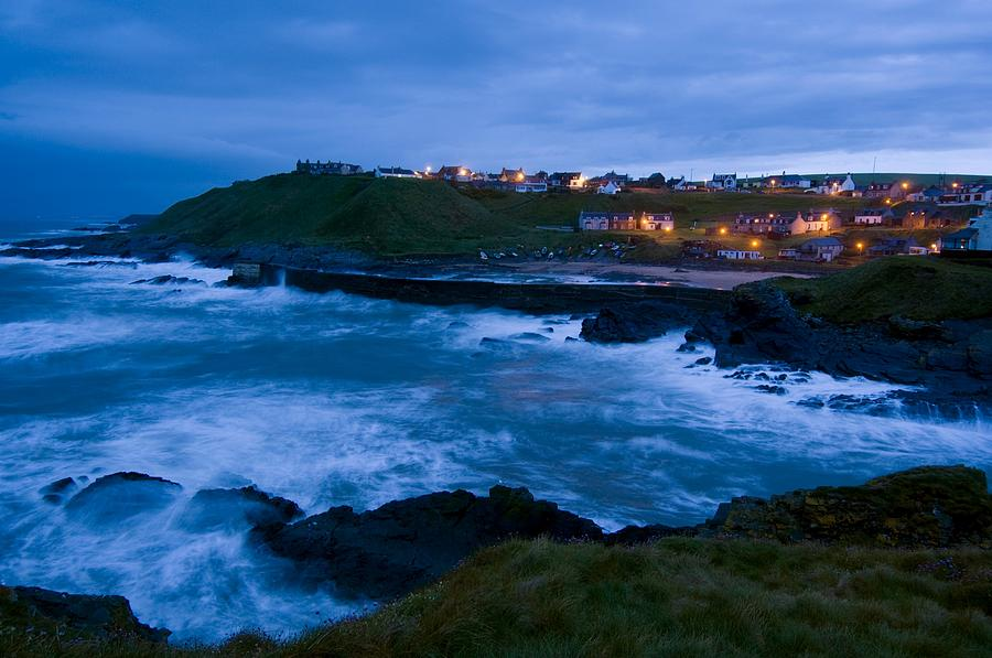 Building Photograph - Stormy Coast, Scotland by Duncan Shaw