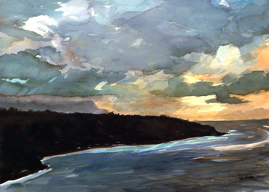 Stormy Day Painting by Jon Shepodd