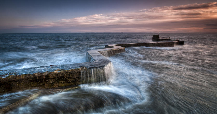 stormy day st monans photograph by jim gove