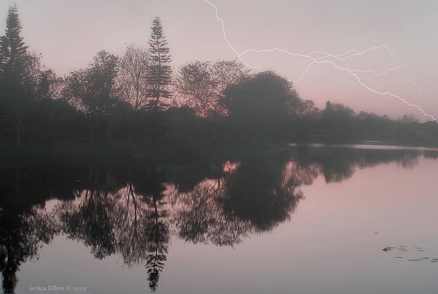 Weather Photograph - Stormy Monday by Grace Dillon