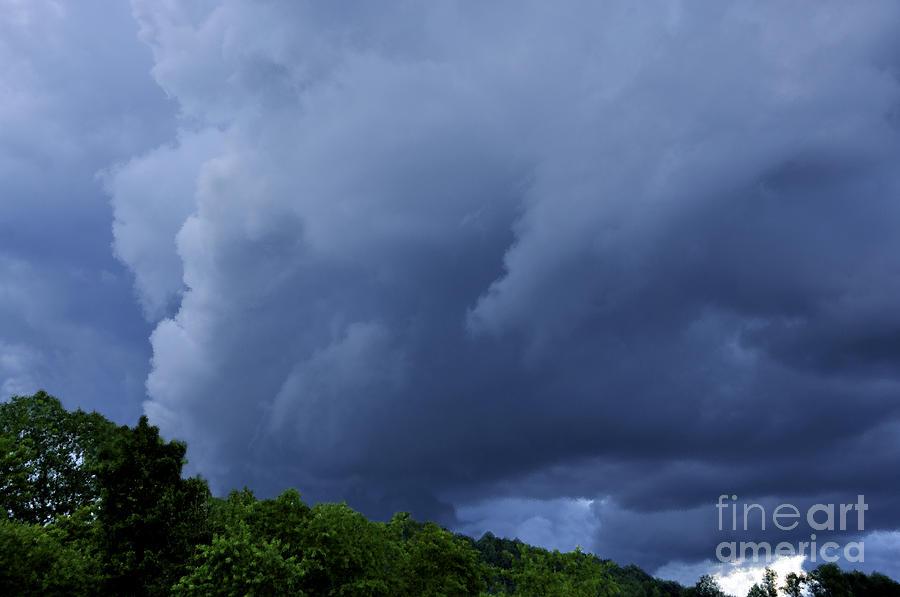 Stormy Summer Sky Photograph - Stormy Summer Sky by Thomas R Fletcher