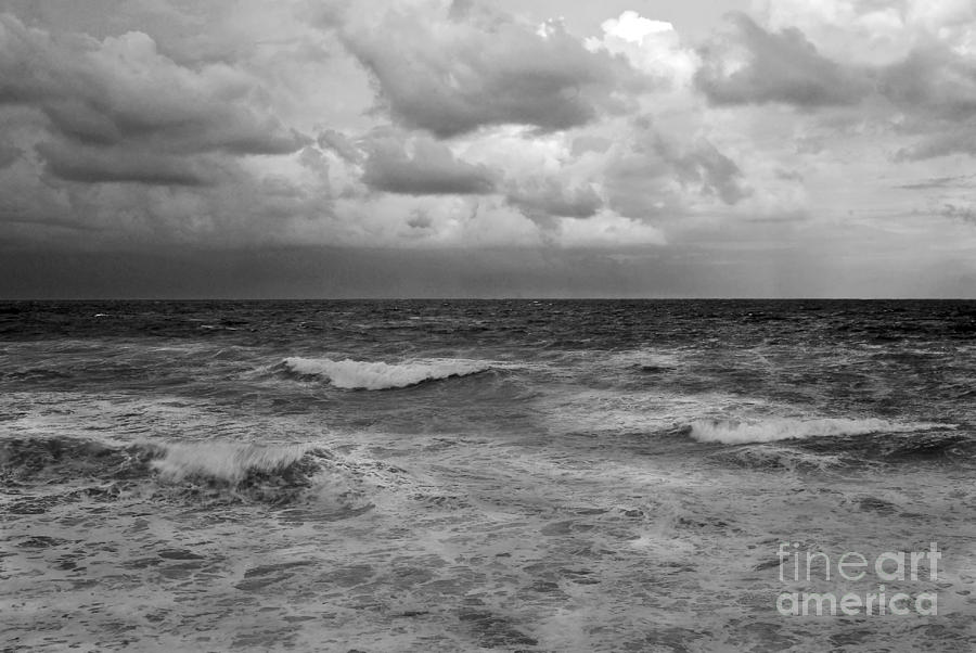 Clouds Photograph - Stormy Waters by Richard Nickson
