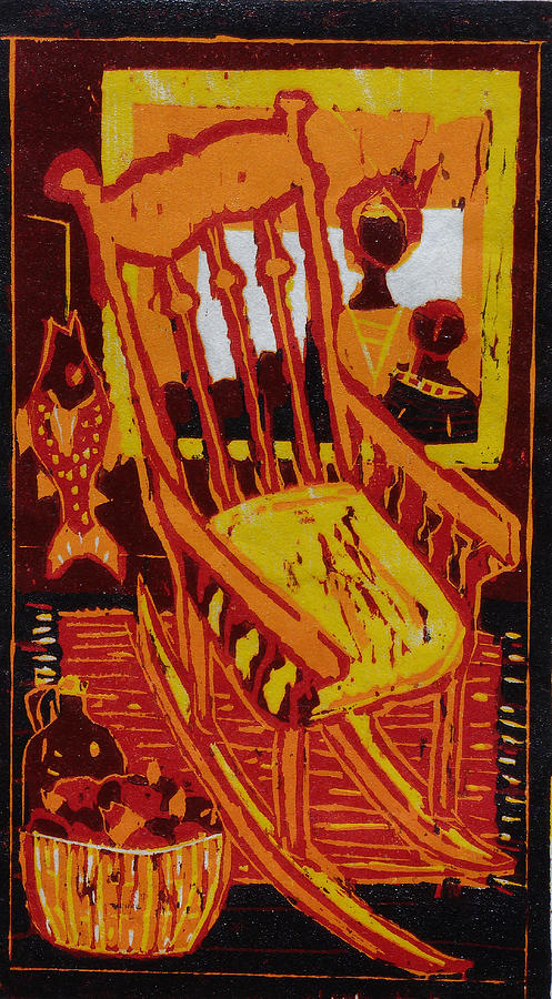 Rocking Chair Relief - Storytime by Dee Timm