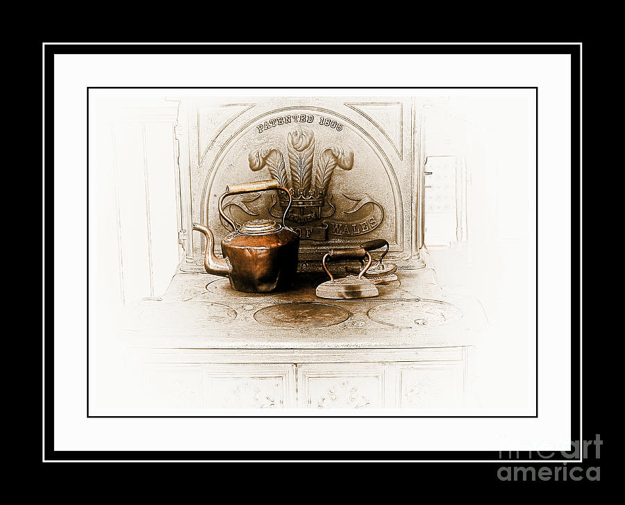 Stove Photograph - Stove Patent 1885 by Elaine Manley