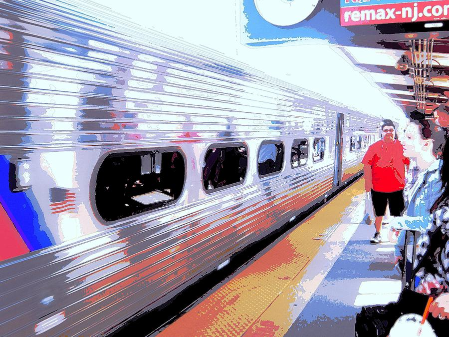 Trains Photograph - Strangers Almost On A Train by Don Struke
