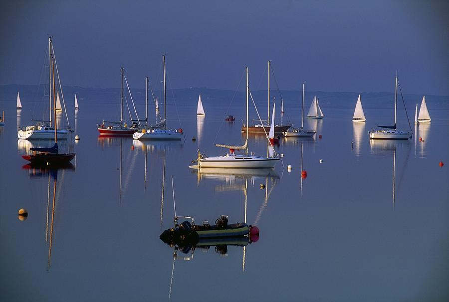 Peaceful Photograph - Strangford Lough, Co Down, Ireland by Sici