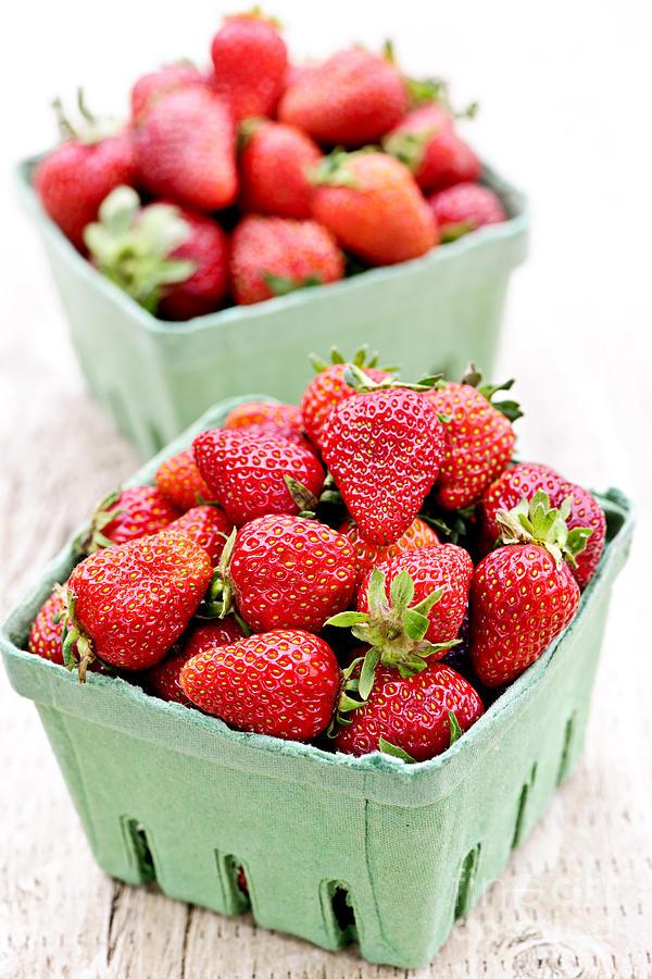 Strawberries Photograph - Strawberries by Elena Elisseeva