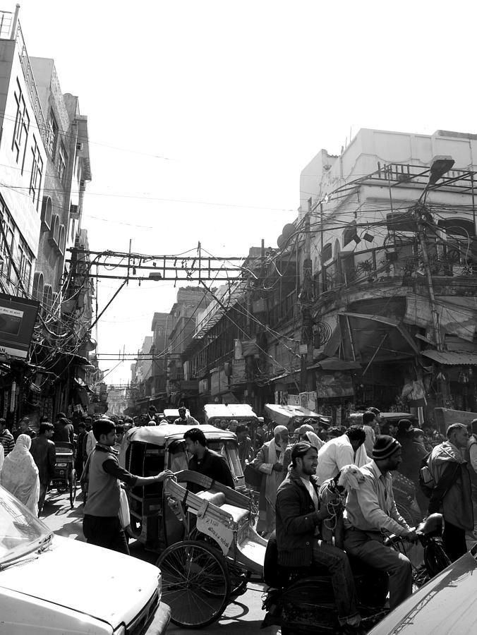 Street Life Photograph - Stree Life by Abhilash G Nath