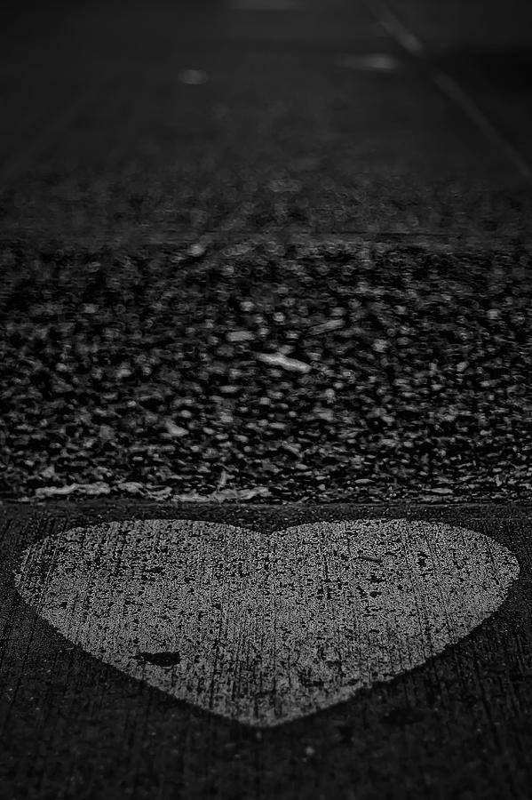 Heart Photograph - Street Heart by Dmitriy Mirochnik