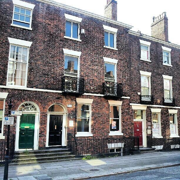 England Photograph - #street #houses #liverpool #buildings by Abdelrahman Alawwad