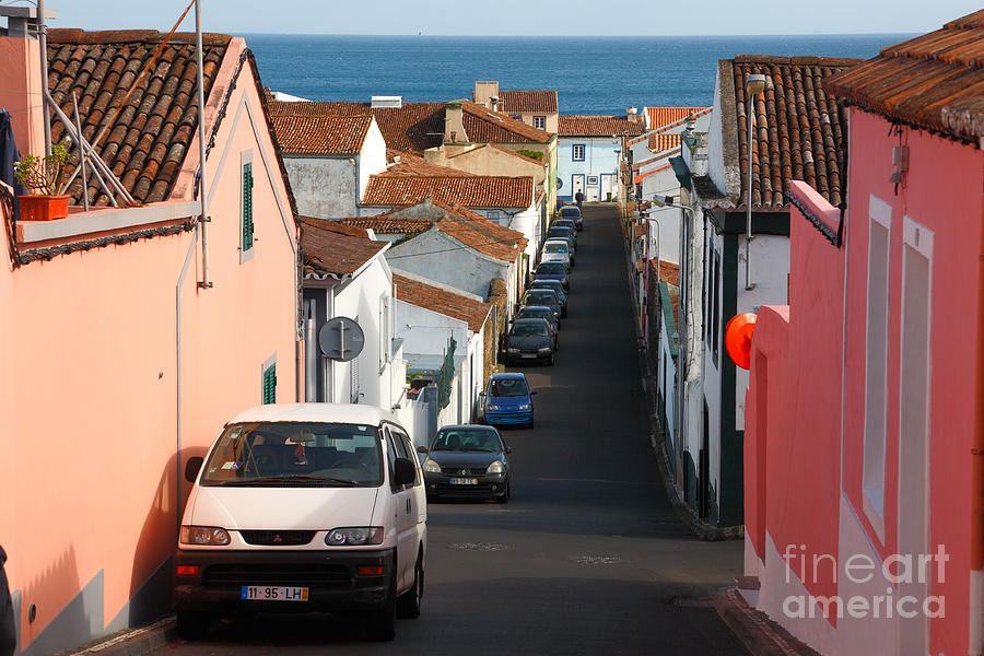 Portugal Photograph - Street In Lagoa - Azores by Gaspar Avila