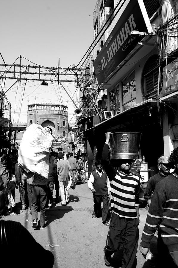 Street Life Photograph - Street Life by Abhilash G Nath