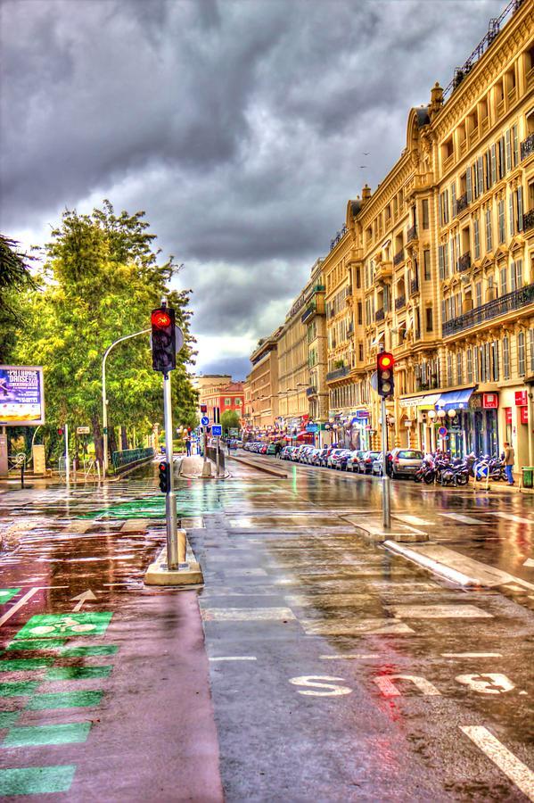Street Photograph - Street Of Niza by David Armas