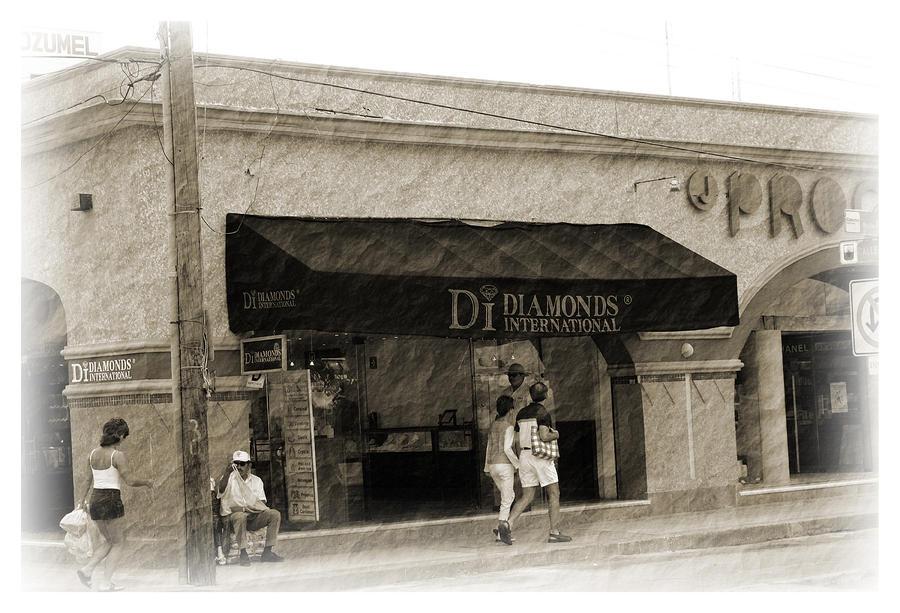 Cozumel Photograph - Streets Of Cozumel by Barry Jones