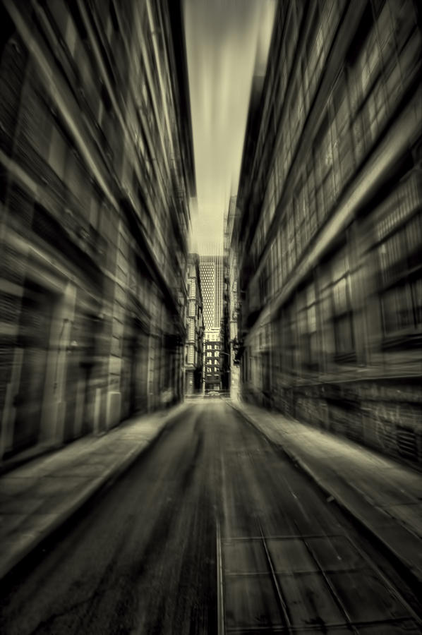 New York Photograph - Streets Of Madness by Evelina Kremsdorf