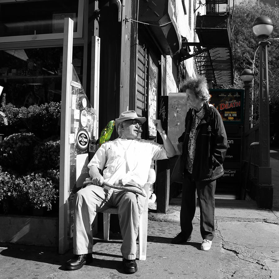 New York Photograph - Streets Of New York 8 by Andrew Fare