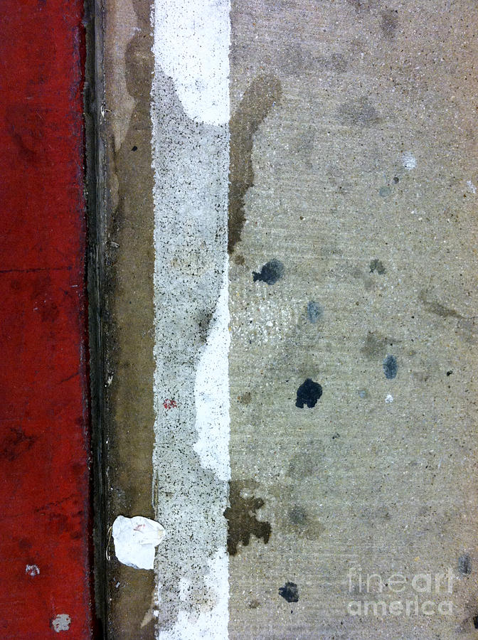 New York City Photograph - Streets Of New York Abstract Twelve by Marlene Burns