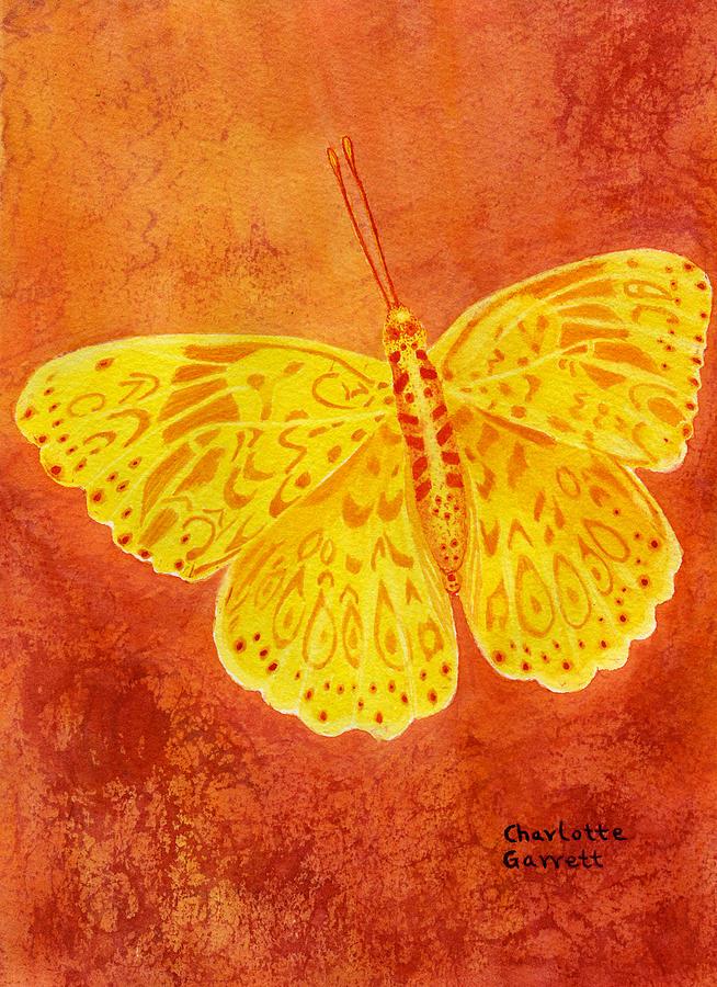 Strength Butterfly by Charlotte Garrett