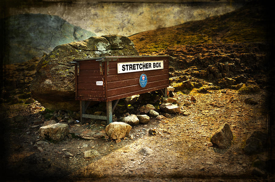 Abandoned Photograph - Stretcher Box by Svetlana Sewell