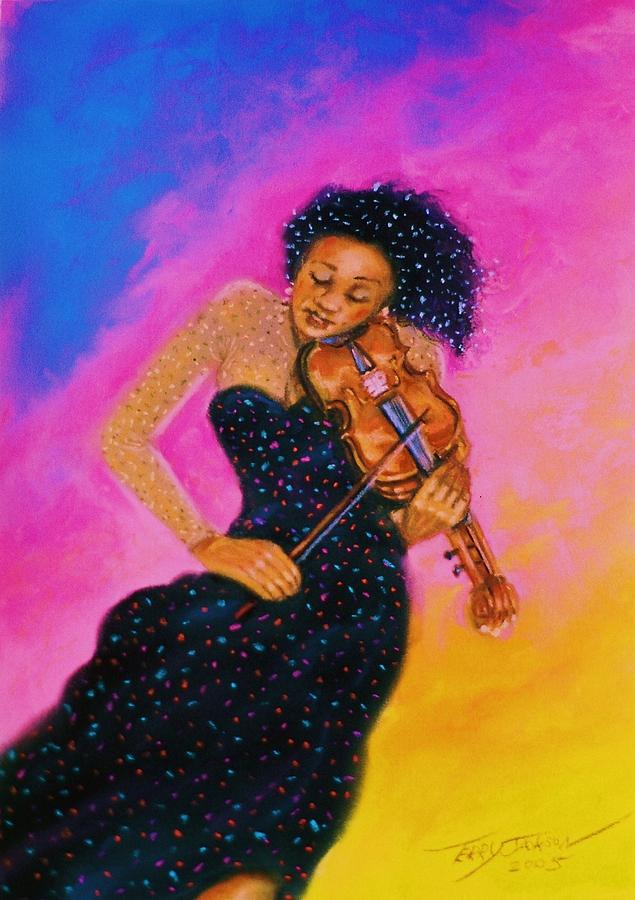 Musical Pastel - String Serenade by Terry Jackson