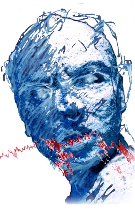 Sculpture Digital Art - String Theory Again by Adam Long