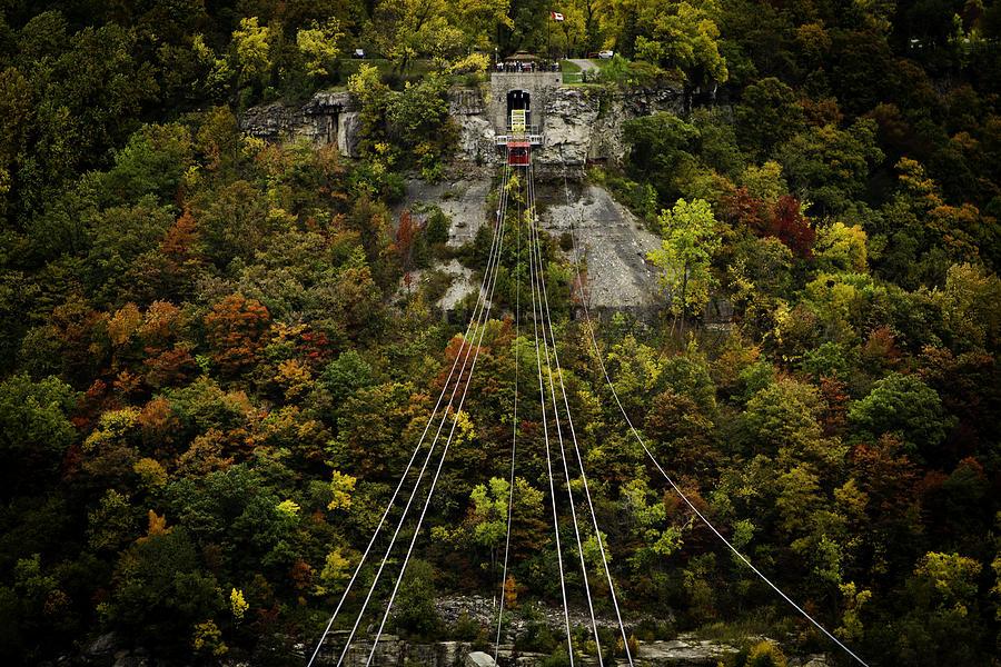 Niagara Falls Photograph - Strings across by Milan Kalkan