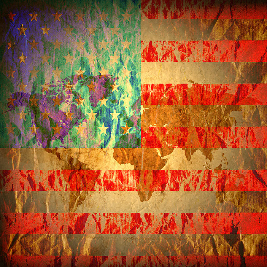 Usa Photograph - Stripes And Stars  by Jerry Cordeiro