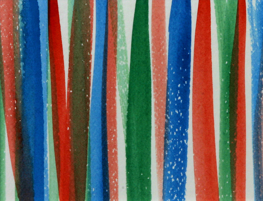 Abstract Painting - Stripes by Katherine Shaver