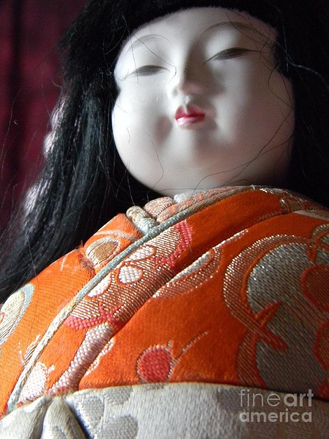 Asian Photograph - Strong Doll by Anita V Bauer