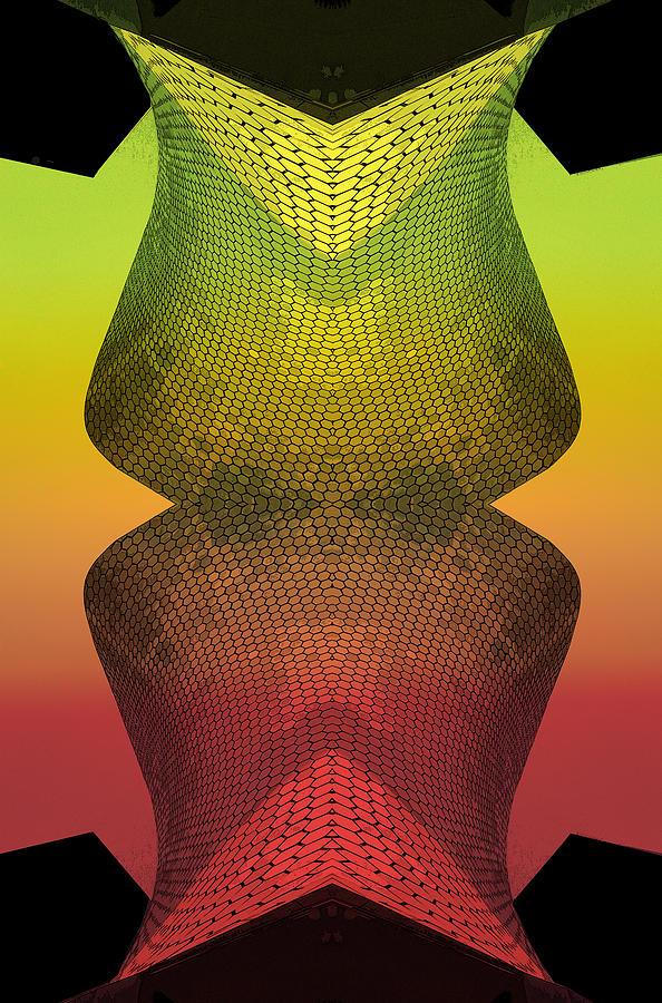 Visual Language Photograph - Structural Variations by Jesus Nicolas Castanon