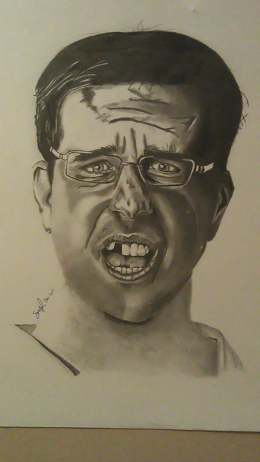 Portrait Drawing - Stu by Shawn Brooks