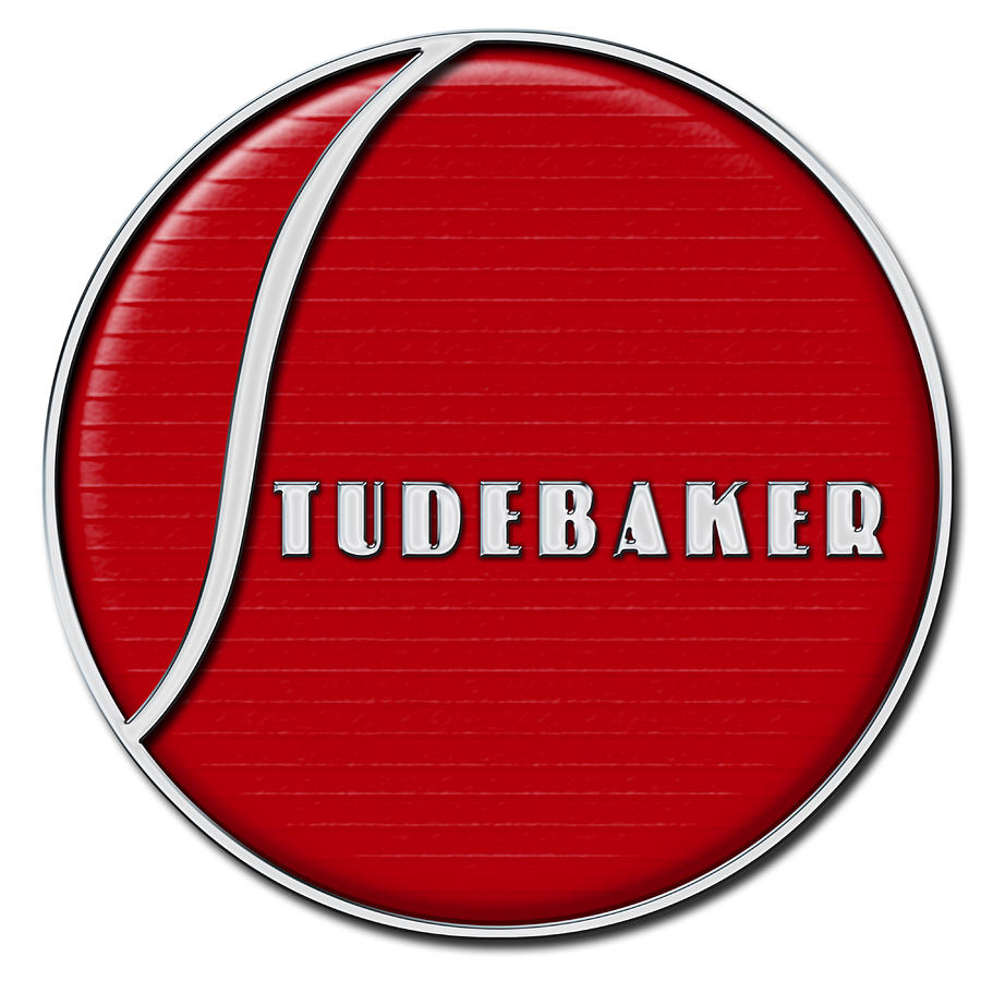 Car Photograph - Studebaker Emblem by Eric Monse