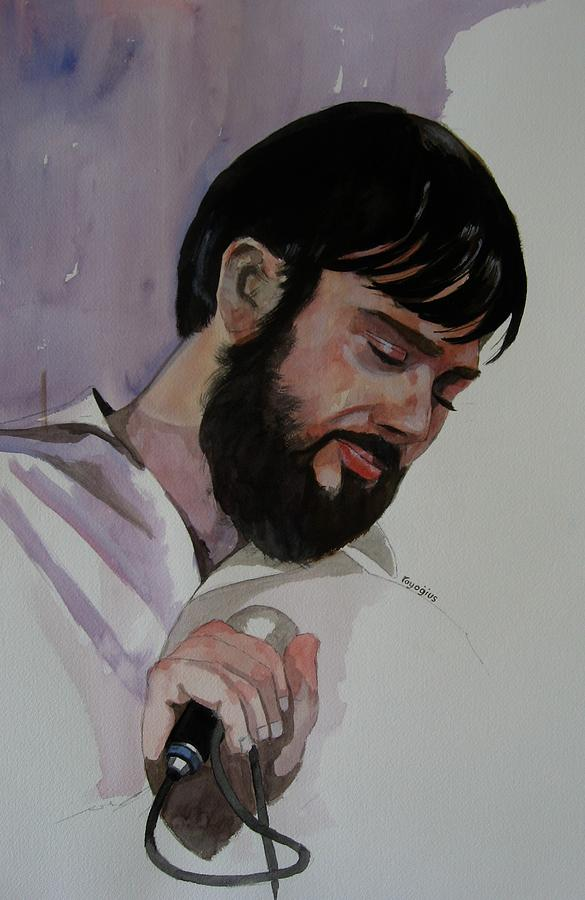 Male Painting - Study For Il-brikuni Mario by Ray Agius