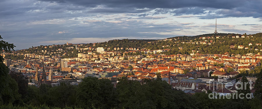 Architecture Photograph - Stuttgart, Germany, Europe by Jon Boyes
