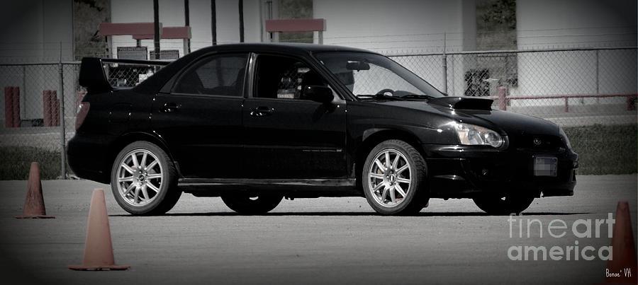 Subaru impreza wrx black