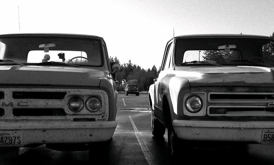 Gmc Photograph - Subtle Differences by Kevin D Davis