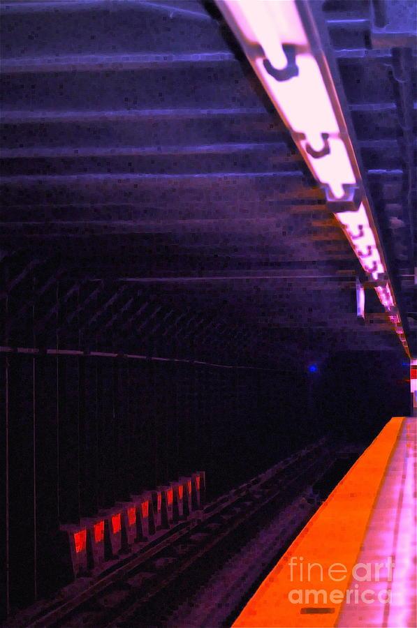Subway Photograph - Subway Silence by Gwyn Newcombe