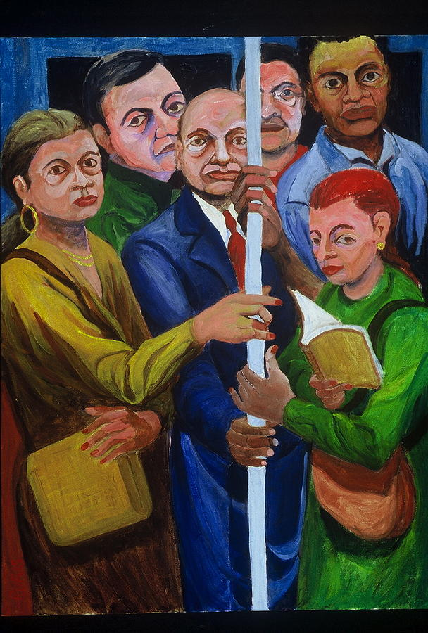 Subway Painting - Subway Welcome by Rufus Norman