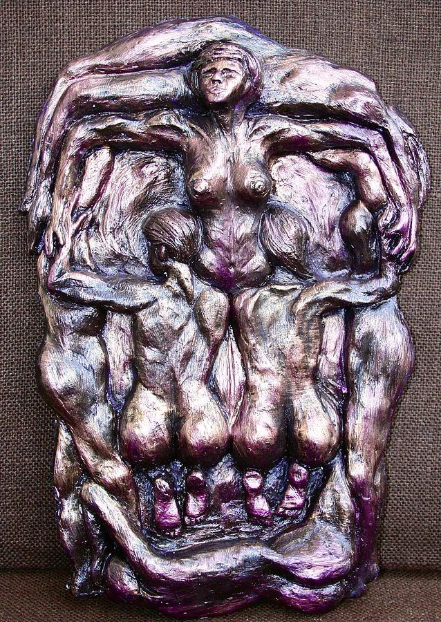 Suductive Skull Ceramic Art by Jenna Horner