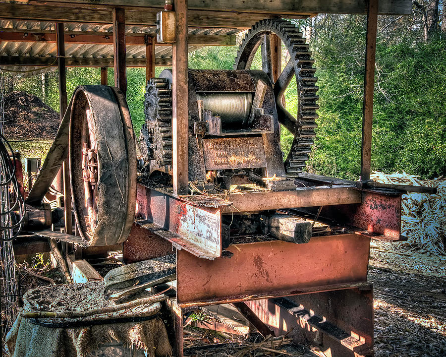 Molasses Photograph - Sugar Cane Mill by Tamyra Ayles