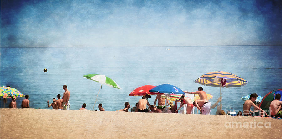 Summer Photograph - Summer By The Sea by Mary Machare