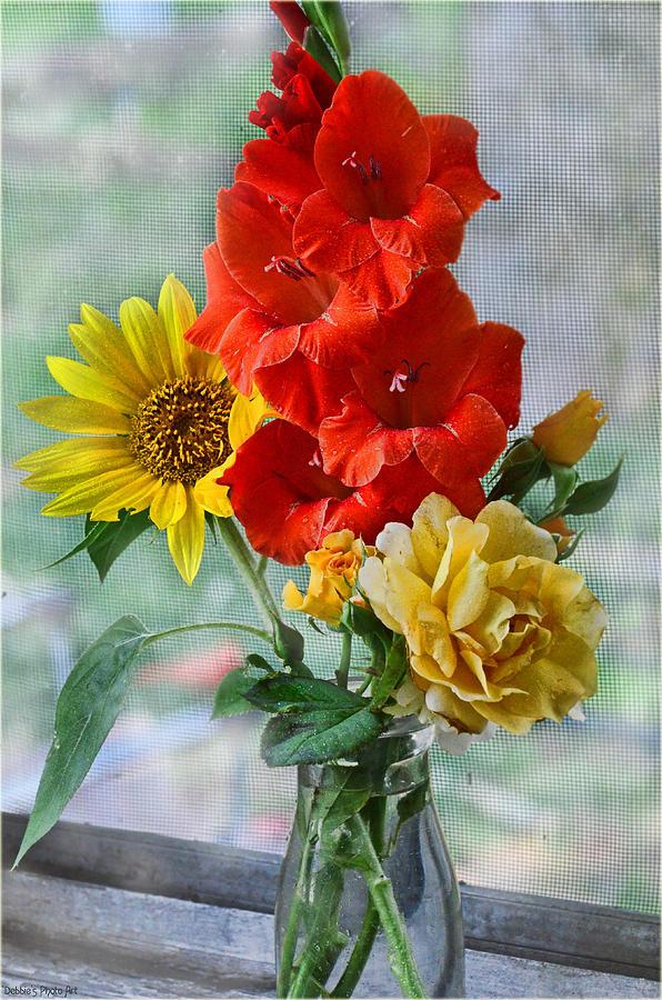 Nature Photograph - Summer Floral by Debbie Portwood