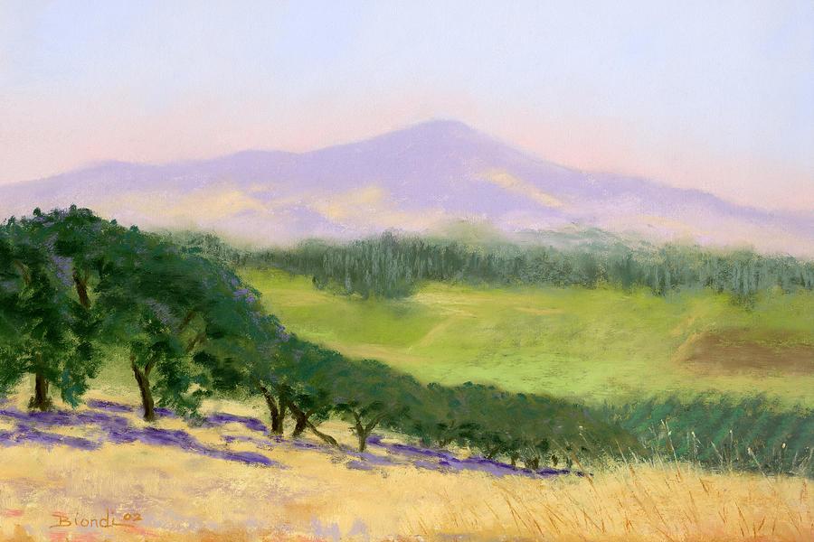 Pastel Pastel - Summer Haze by Janet Biondi