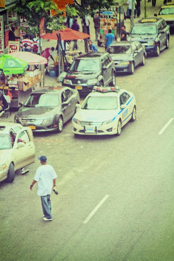 Street Scene Photograph - Summer In Harlem by Karol Livote
