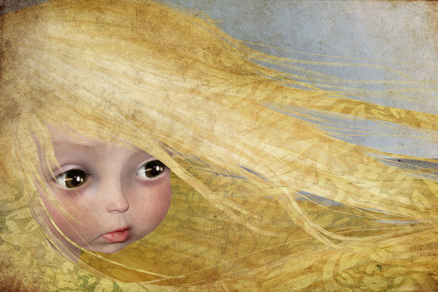Blonde Painting - Summer by Jessica Von Braun
