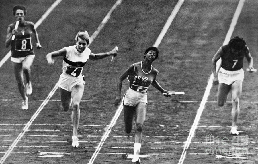 1960 Photograph - Summer Olympics, 1960 by Granger