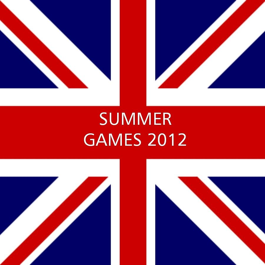 Great Britain Digital Art - Summer Olympics In U.k. by Florene Welebny