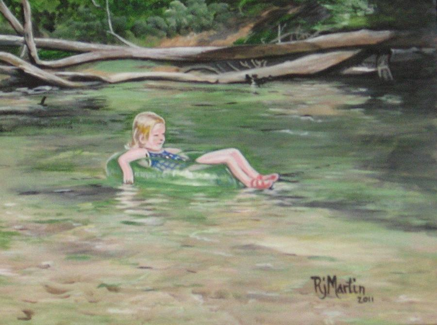 Summer on the Creek by Roberta Martin
