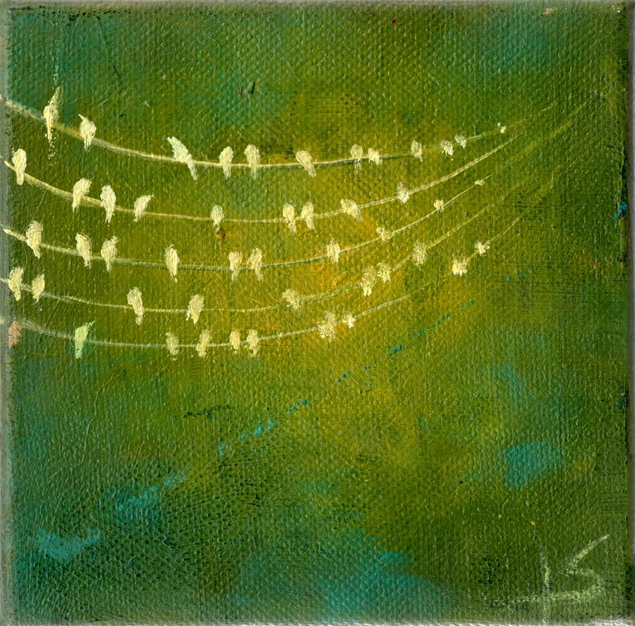 Birds Painting - Summer Song by Lisa Stevens