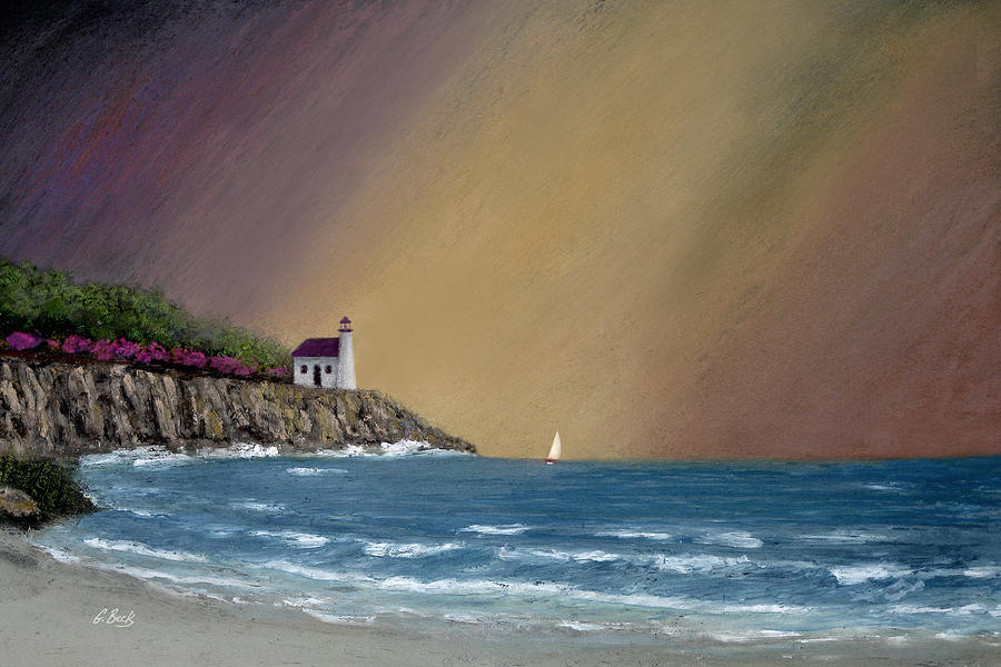 Summer Painting - Summer Squall by Gordon Beck